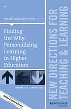 Finding the why : personalizing learning in higher education