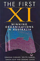 First XI winning organisations in Australia