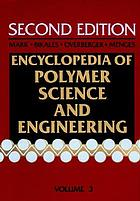 Encyclopedia of polymer science and engineering.