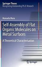 Self-assembly of flat organic molecules on metal surfaces : a theoretical characterisation