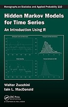 Hidden Markov models for time series : an introduction using R
