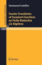 Fourier transforms of invariant functions on finite reductive Lie algebras