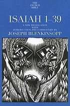 Isaiah 1 - 39 : a new translation with introduction and commentary