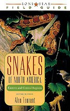 Snakes of North America : eastern and central regions