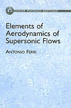 Elements of aerodynamics of supersonic flows