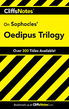 CliffsNotes Sophocles' Oedipus trilogy