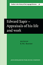 Edward Sapir, appraisals of his life and work