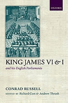 King James VI/I and his English parliaments
