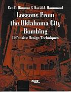 Lessons from the Oklahoma City bombing : defensive design techniques