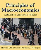 Principles of macroeconomics : activist vs. austerity policies