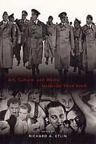 Art, culture and media under the Third reich.