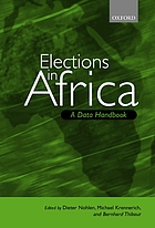 Elections in Africa : a data handbook