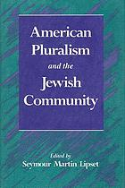 American pluralism and the Jewish community