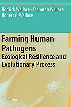 Farming human pathogens : ecological resilience and evolutionary process