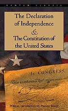 The Declaration of Independence and the Constitution of the United States : with index