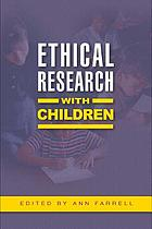 Ethical Research with Children cover image