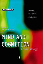 Mind and cognition : an anthology