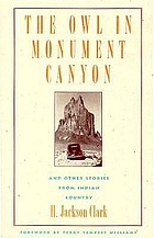 The owl in Monument Canyon, and other stories from Indian country