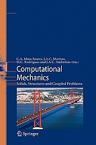 Computational mechanics : solids, structures and coupled problems