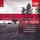 Symphony no. 3 ; Clarinet concerto ; Quiet city