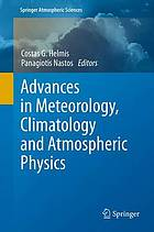 Advances in meteorology, climatology and atmospheric physics