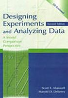 Designing experiments and analyzing data : a model comparison perspective