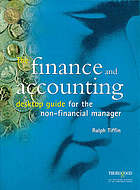 The finance and accountancy desktop guide : for the non-financial manager