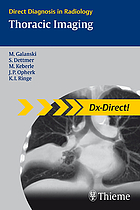 Direct diagnosis in radiology = Thoracic imaging