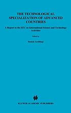 The technological specialization of advanced countries : a report to the EEC on international science and technology activities