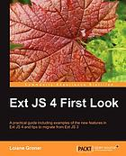 Ext JS 4 First Look.
