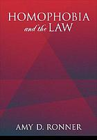 Homophobia and the Law cover image