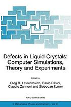 Defects in liquid crystals : computer simulations, theory, and experiments