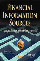 Financial information sources : scope of education and marketing activities