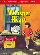 Whisper of the heart = Mimi o sumaseba