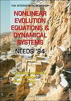 Nonlinear Evolution Equations & Dynamical Systems : NEEDS '94