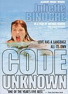 Code inconnu : récit incomplet de divers voyages = Code unknown : incomplete tales of several journeys