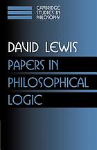 Papers in philosophical logic