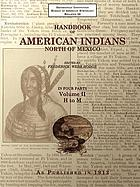 Handbook of American Indians North of Mexico V. 2/4.