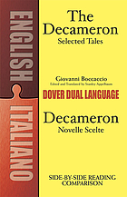 The Decameron : selected tales = Decameron : novelle scelte