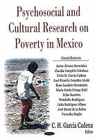 Psychosocial and Cultural Research on Poverty in Mexico cover image