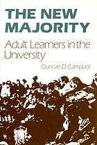 The new majority : adult learners in the university