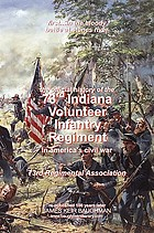 History of the Seventy-third Indiana Volunteers in the war of 1861-1865