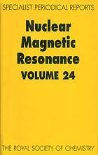 Nuclear magnetic resonance Volume 24