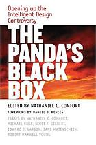 The panda's black box : opening up the intelligent design controversy