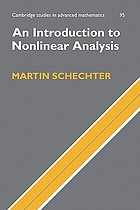 An introduction to non-linear analysis