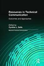 Resources in technical communication : outcomes and approaches