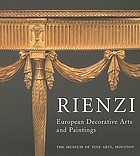 Rienzi : European decorative arts and paintings
