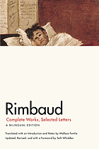 Rimbaud : complete works, selected letters : a bilingual edition
