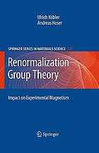 Renormalization group theory : impact on experimental magnetism