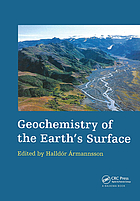 Geochemistry of the earth's surface : proceedings of the 5th International Symposium on Geochemistry of the Earth Surface, Reykjavik, Iceland, 16-20 August 1999